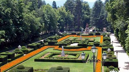 Espanha em uma semana da primavera septiembre 2013 for Jardines de san ildefonso
