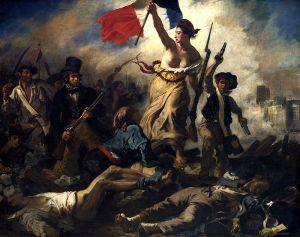 La Libertad guiando al pueblo, de Eugène Delacroix